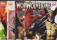 Wolverine Manifest Destiny #1-4, 2008 Marvel Comics, Full set/ 4 ish mini series