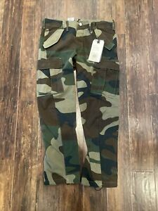 Levi's Levis Men 541 Athletic Taper Army Green Camo Pants Jeans 32x30 $128 NEW!