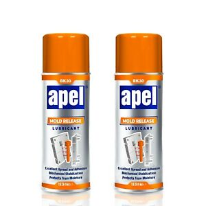 APEL Silicone Mold Release Spray (13.5 floz) Release Agent Aerosol and Lubricate