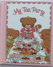 My Tea Party Personalized Book for Children - A Book That Will Be A Keepsake