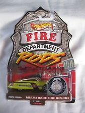 Hot Wheels 2000 Fire Rods,Series 1 8/12 Purple Passion Mint In Card