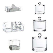 Serene - Clear Acrylic Bathroom / Home Storage Accessories & Organisers