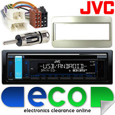 Toyota RAV4 00-06 JVC CD MP3 USB Aux Ipod Car Radio Stereo Fitting Kit TY04