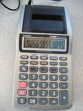 Used Casio Hr-8Tm Tax & Exchange Calc 12 digit Ac/Bat, complete, w/warranty