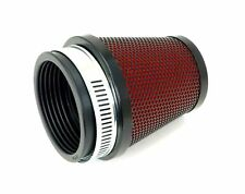 Pod Air Filter 54mm Round Tapered Black Body and Cap with Red Foam Filter NEW