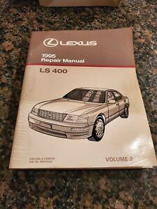 1995 Lexus LS 400 Factory Service Repair Manual - VOLUME 2 ONLY
