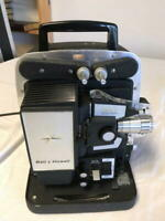 Vintage Bell & Howell lumina 12 8mm Film Projector w/auto load, w/warranty