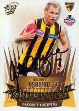 ✺Signed✺ 2008 HAWTHORN HAWKS AFL Premiers Card MICHAEL OSBORNE