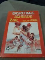 Basketball for Atari 2600 ▪︎ COMPLETE IN BOX ▪︎ FREE SHIPPING ▪︎