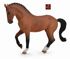 Hanoverian Bay Mare Dressage Horse Toy Model by CollectA 88719 Brand New