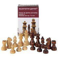 Piezas de ajedrez modelo Aquamarine