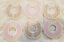 New Elephant closet dividers Baby Girl Pink Beige White