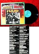 LP Hair-An American TRIBAL LOVE-ROCK MUSICAL New York Shakespeare Public...