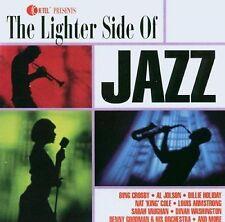 THE LIGHTER SIDE OF JAZZ - 18 VARIOUS ARTIST TRACKS CD - FREE POST IN UK