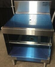"Eagle Group Wbgr24-24 Drainboard 24"" x 21"" Workboard Stainless Steel Restaurant"