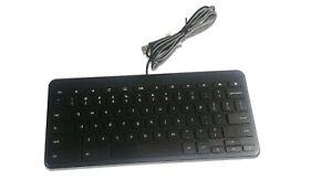 HP Wired USB Slim Keyboard Galeras Black 766226-001