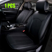 Black PU Leather Car Seat Cover 6D Full Surrounded Breathable 4-Seasons Cushion