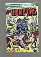 The Champions #2 [Marvel,1976] NM- 9.2 Pluto Appearance, Iceman & Ghost Rider