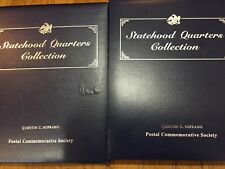 Complete Statehood Quarter Collection 100 BU Coins Mint w Stamps - Post Comm Soc