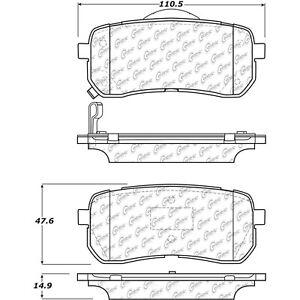 Disc Brake Pad Set fits 2015-2019 Kia Sedona  CENTRIC PARTS