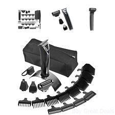 Wahl Slate Stainless Steel Trimmer Shaving Tool Hair Removal Kit Beard Care Comb