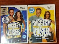 Lot of 2 Nintendo Wii The Biggest Loser The Biggest Loser Challenge New Sealed