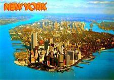 World Trade Center Twin Towers Postcard Pre 9/11 WTC Vtg Authentic Original