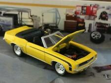 RESTO MOD 1969 Chevy V-8 Camaro SS Convertible 1/64 Scale Limited Edition B57