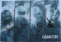 ⭐⭐⭐⭐  HÄMATOM  ⭐⭐⭐⭐  Autogramm  ⭐⭐⭐⭐  Autogrammkarte 10 x 15 cm  ⭐⭐⭐⭐