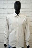 Camicia a Righe Uomo JECKERSON Taglia XL Camicetta Manica Lunga Maglia Shirt Man