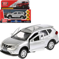 Nissan X-Trail Silver Colored Diecast Model Car Scale 1:36