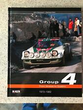 Group 4 From Stratos to Quattro signed by World Champion Timo Salonen  Peugeot