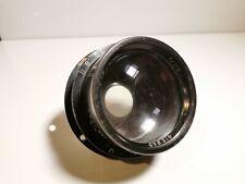 "Rare J.L.D Dallmeyer Air Ministry Lens F2.9, 8"" 14A/780 Large Format Lens"
