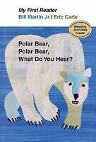 Polar Bear, Polar Bear, What Do You Hear? My First Reader-ExLibrary