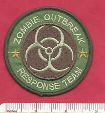 Zombie Outbreak Response Team - ZRT Police Style Emblem Law Enforcement Patch