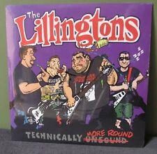 "The Lillingtons ""Technically More Round"" 2 LP /300 OOP Nofx Teenage Bottlerocket"