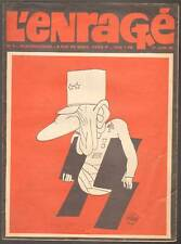 Revue. L'Enragé. Juin 1968. Siné Jossot Willem Wolinski Topor