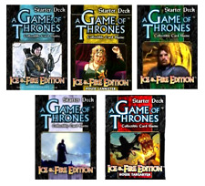 A Game of Thrones: 5 Ice & Fire Starter Decks - and FREE SHIPPING