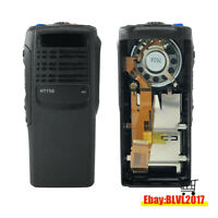 Black Replacement Repair Housing Case With Speaker For Motorola HT750 radio