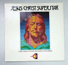 ⭐ JESUS CHRIST SUPERSTAR ⭐ 1972 LP Record ALBUM Andrew Lloyd Webber AXIS 6020