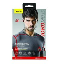 Oem Jabra Sport Coach Wireless Bluetooth Stereo Headphones Red Cross Training