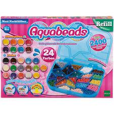 Aquabeads Nachfüllset mit Sternenbox Perlen Wasserperlen 24 Farben + Box