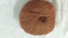 Heirloom Mohair Mist 12 Ply #333 Rust 50g 85 Mohair 15 Wool