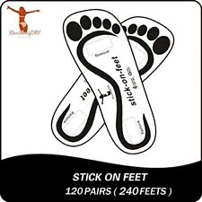 Tanning Feet Perfect for Salons Self Adhesive Disposable and Hygienic 120 Pair