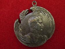 Napoleon II, 'L'Aiglon' badge 1900, silvered-bronze
