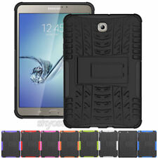 """Heavy Duty Rubber Tablet Cover Case For Samsung Galaxy S2 S3 S4 8.0"""" 9.7"""" 10.5"""""""