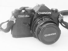 Vintage !! CHINON CM-4s ,1:1.9 with 50mm Lens SLR 35mm Film Camera