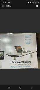 Seville Classics UltraShield Table Top Shield, 2-pack 30 x 24 Sneeze Guard New
