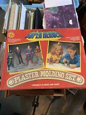 Super Heros Plaster Mold Set