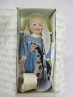 Baby Boy Porcelain Doll Ashton Drake with Box Stevie Caught in the Act 1991 (CI)